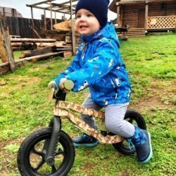 Беговел Chillafish BMXie Special Edition (резиновые колеса)