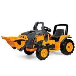 Электромобиль- трактор Peg-Perego John Deere Construction Loader (скорость до 7,3 км/ч)